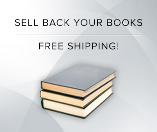 Picture of stacked textbooks. Click to sell back your books for cash with free shipping!